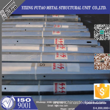 Short Lead Time for Galvanized Tubular Poles FU TAO Galvanized Electric steel Pole export to Mauritius Manufacturers