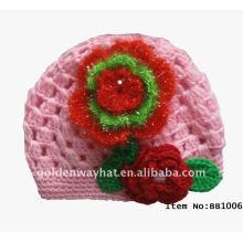 Sombreros encantadores del gorrita tejida del bebé del diseñador