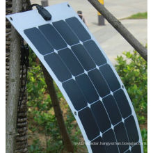 18V 100W ETFE Flexible Soft Solar Panel with Sunpower Cells