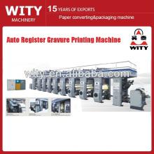 Máquina de impressão por gravura automática