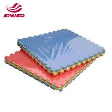 High density eva foam floor mat interlinking jiujitsu mat for gymnastic sports folding gym mat