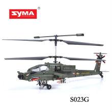 SYMA S023G simulación inalámbrica de aviones 3d camuflaje