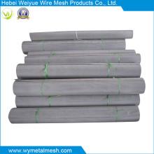 Malla de alambre tejida del acero inoxidable de la armadura llana