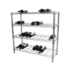Metal Liquor Bottle Display Shelf Rack Stand (WR903590A4C)