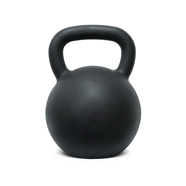 Black Powder Coated Kettlebell