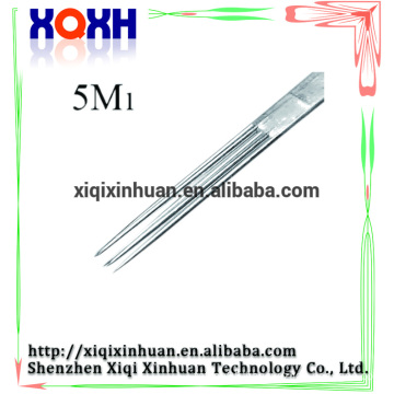 High quality cosmetics make your own brand silver disposable stainless steeled tattoo needle supply