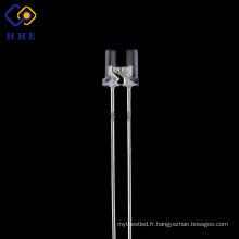 haute qualité 5mm plat top led 850nm IR eau claire