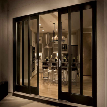 Aluminium Lift and Sliding Door White Color