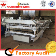 Glazed Tile Forming Machine For Step Roofing Sheet