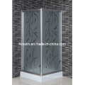 5mm Acid Glass Shower Room with Square Tray (EM-800)