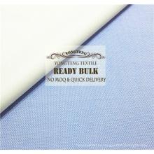 Telas de camisa teñidas con hilo de algodón en existencia