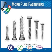 Made in Taiwan Shield Brass Screw Lag Bolt