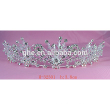 set drill crown tiaras wholesale bridal rhinestone pageant crown princess birthday party crown