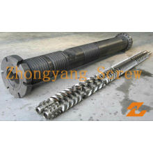 Parallel Twin Screw Barrel para extrusora