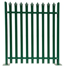 Metal Steel Palisade Wall Fence For Europe Market