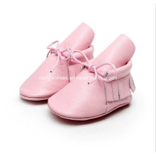 Europe Leather Fringed Baby Shoes 01