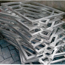 Cadre en aluminium sérigraphié de haute qualité