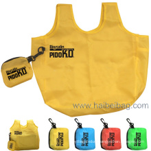 100% Recycled 190t Polyester Foldable Bag (HBFB-12)