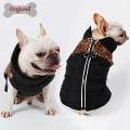 Reflektierende Reißverschluss Winter wasserdicht warme Bekleidung Hund Jacke