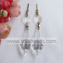 Direct 16*46MM Acrylic Crystal Ceilling Garland Pendant