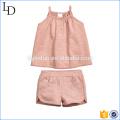 Хорошее качество дети лето платье одежда комплект