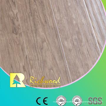 12.3mm relieve en relieve cera v-acanalado piso Lamiante