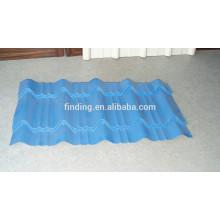 Couleur de Chine personnalisée ondulé Boutique feuille/en ligne en gros de toit en acier pour feuille de toiture
