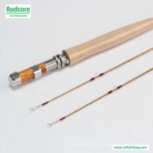 8FT 6wt Hexagon Tonkin Bamboo Fly Rod
