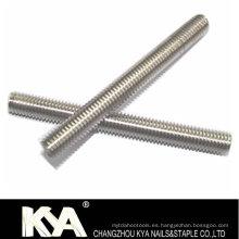 (ASTM A193-B8) Barra de rosca de acero al carbono