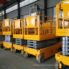 Movable hydraulic scissor lift table battery scissor lift platform