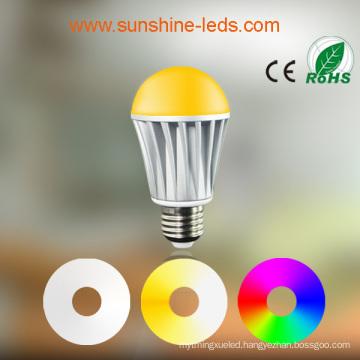 Bluetooth/WiFi RGBW 7W E26/E27 LED Lamp