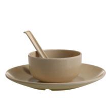 Eco-Friendly Bamboo Fiber Straight Bowl