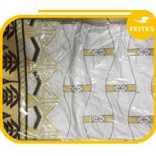 Vestido de bordado Feitex African Bazin Riche, Guinea Brocade Tela de bordado, Tela de encaje