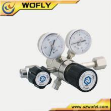 Low price natural gas regulator valve Pressure low regulators with meter
