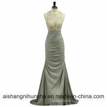 Elegante Chiffon Vestidos De Noite COM crystal Vestidos