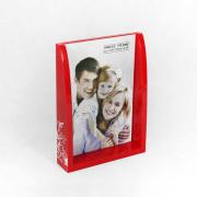 Cheap Custom Red Acrylic Box Photo Frames