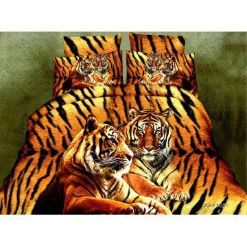Tigre modèle prue microfibre tissu imprimé