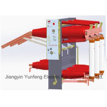 Tipo de sellado de la serie 40.5kv Interruptor de corte de carga a vacío de alto voltaje-Fzrn35GF-40.5D