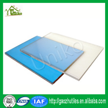 GE SABIC uv protected rigid anti-fog corrugated impact resistance polycarbonate bus shelter