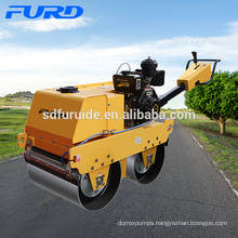 Double Drum Pedestrian Road Roller with Imported Pump (FYLJ-S600C)