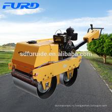 Двухбарабанный пешеходный дорожный каток с импортным насосом (FYLJ-S600C)