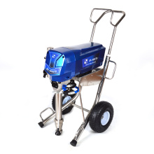 Energy saving low power consumption wall spray paint machine