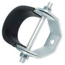 Factory price U/O type steel metal pipe clamp bracket