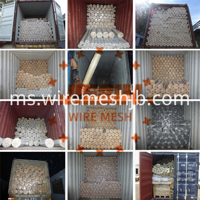 Crimped wire screen