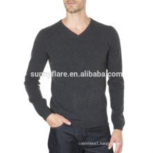 OEM Fit 100% Cashmere Men Sweater