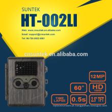 HT002LI Impermeável IP54 Caça Invisível Câmera Scouting