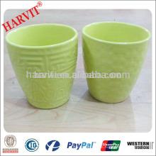 Precios decorativos de la fábrica del pote de la flor / taza y platillo del pote de flor / regalo del paquete del pote de flor