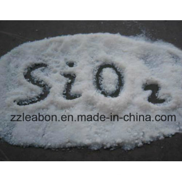 Dioxyde de silicium blanc de gel de silice de carbone de catégorie comestible de silice