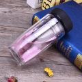 Doppelwandige Wasserflasche mit Filterinfuser