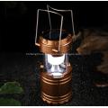 Luz que acampa recargable de la emergencia solar al aire libre del LED